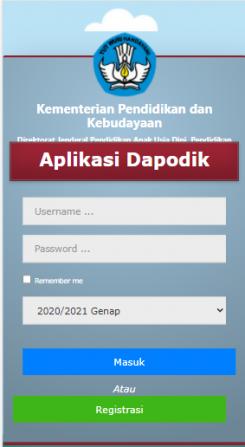 Dapodik Online